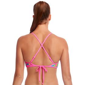 Funkita Top Bikini Cruzado Atrás Mujer, Multicolor
